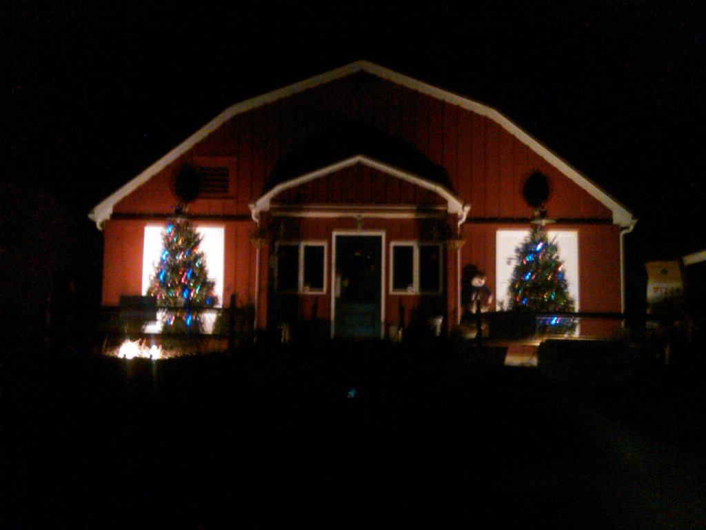 The Junction on a Christmas Night