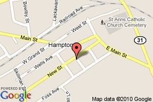 Map of Hampton Junction