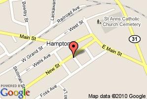 Map of Hampton Junction
